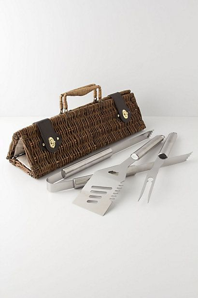 Barbecue Utensils Basket -