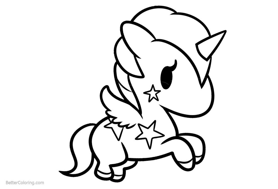 Image Result For Chibi Unicorn Coloring Pages Printable Unicorn Coloring Pages Easy Coloring Pages Coloring Pages