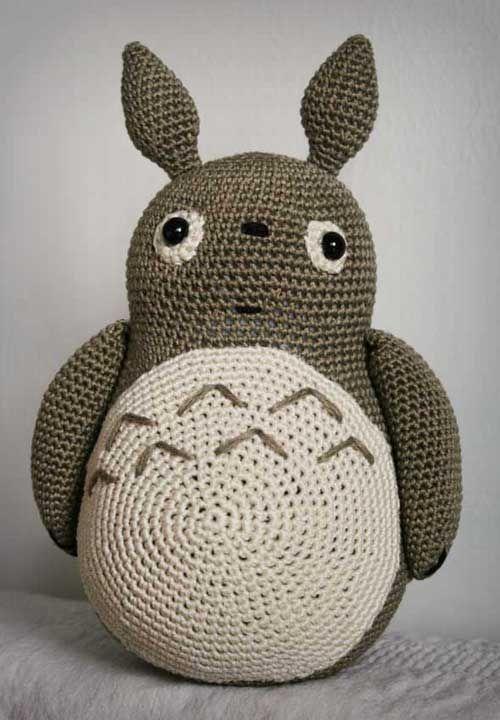 Totoro amigurumi | toys | Pinterest | Rosetten, Papier basteln und ...