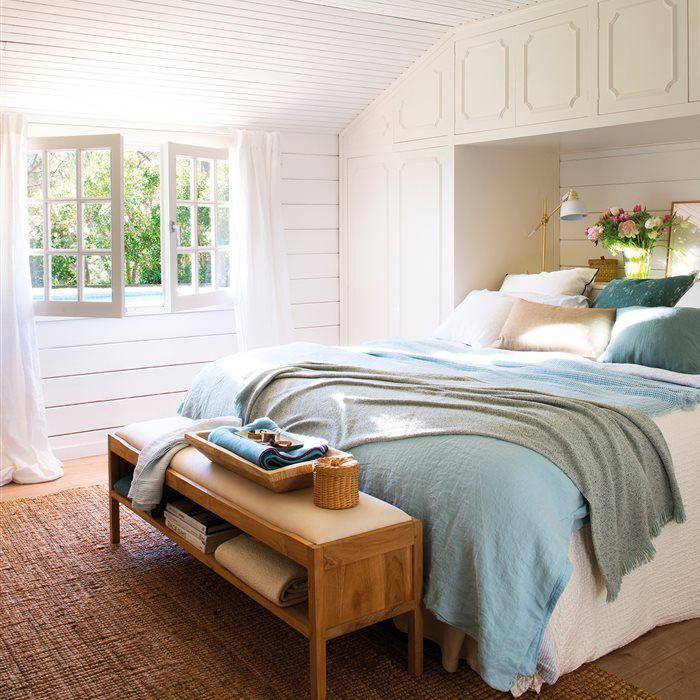 Soluciones para guardar en el dormitorio... además del armario   El ...