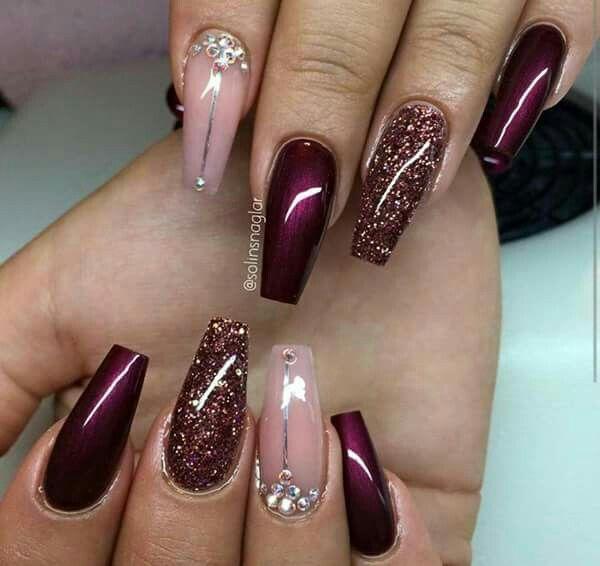 Pin by kristi davis on nail designs pinterest nail nail gorgeous nails nicenail art designsburgundy prinsesfo Gallery