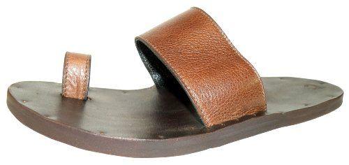 Jutta Neumann New York Men's Hermes Primitivo Leather Sandal 7 D(M) US Jutta