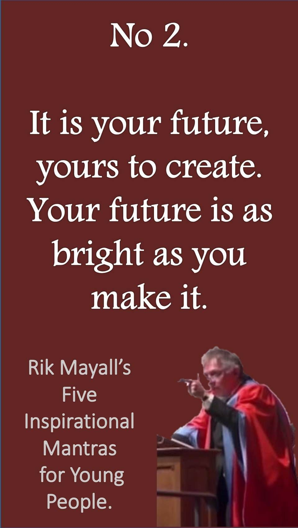 Inspirational Quotes For Young Adults Rik Mayall's 5 Inspirational Mantras For Young People Opportunity