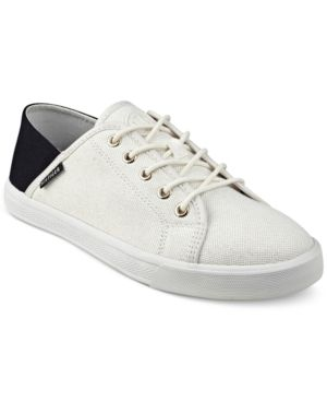 f1bf393dc Tommy Hilfiger Flip Lace-Up Sneakers - White 9.5M