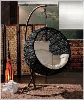 Swinging Rattan Chair/egg Swing Chair/ Hanging Glass Chair Indoor Outdoor  Chair Cheap Rattan Chair   Buy Cheap Wicker Rattan Chairs,Egg Shaped Swing  Chair ...