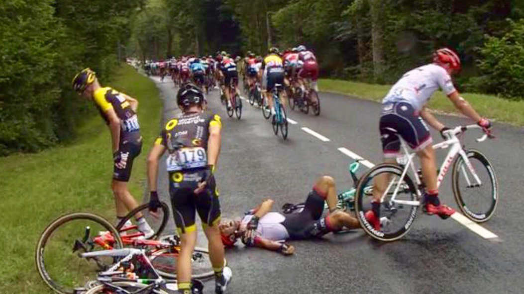Pin van Hans Geleynse op Tour de France 2017