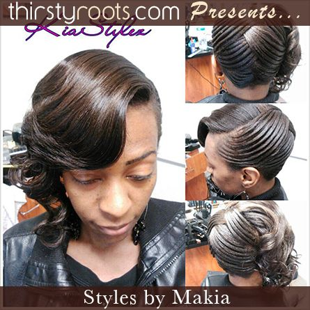 Terrific Asymmetrical Raked Hairstyle Thirstyroots Com Black Hairstyles Hairstyles For Women Draintrainus