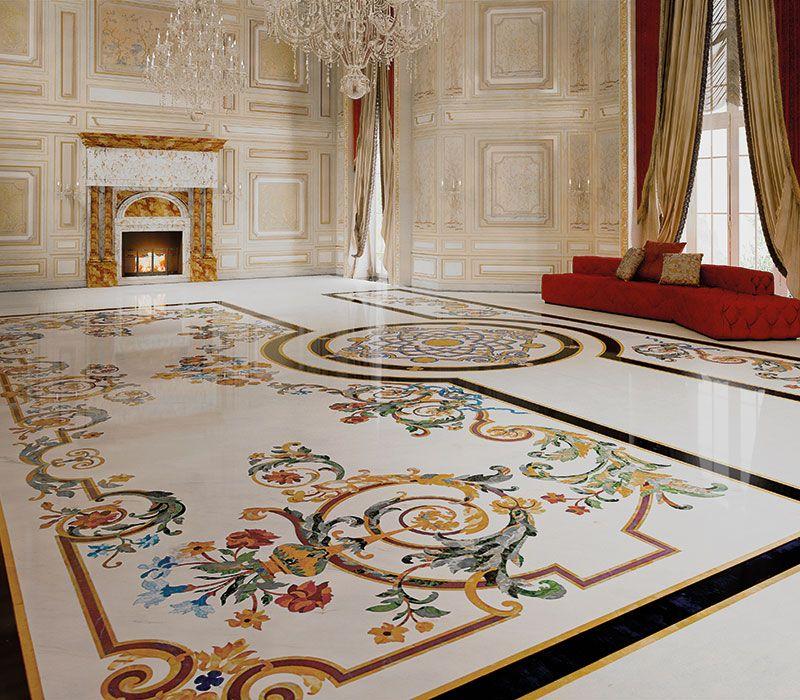 Salon De Luxe Italien Elegant Ensemble Relaxation Pices