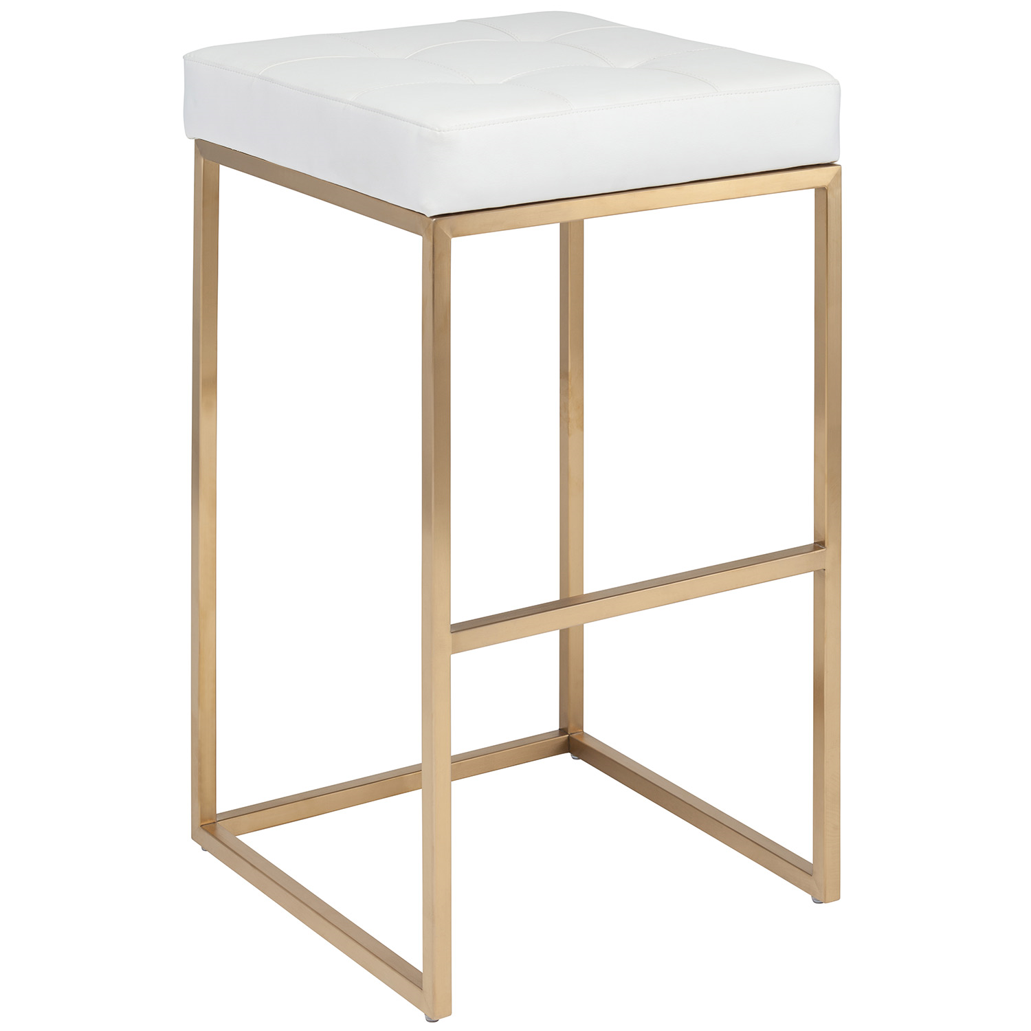 Edgy Lines Lend Nuevo S Chi Bar Stool Captivating And Elegant