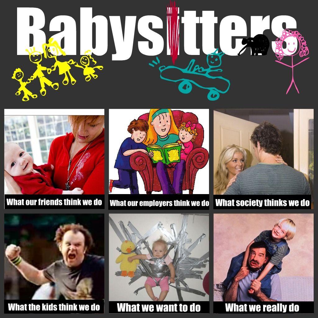 Babysitter's meme I Cant Stop Laughing Pinterest