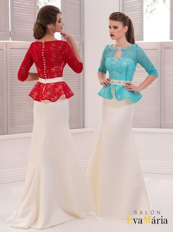 Spoločenské šaty - morská panna  880aa41579b