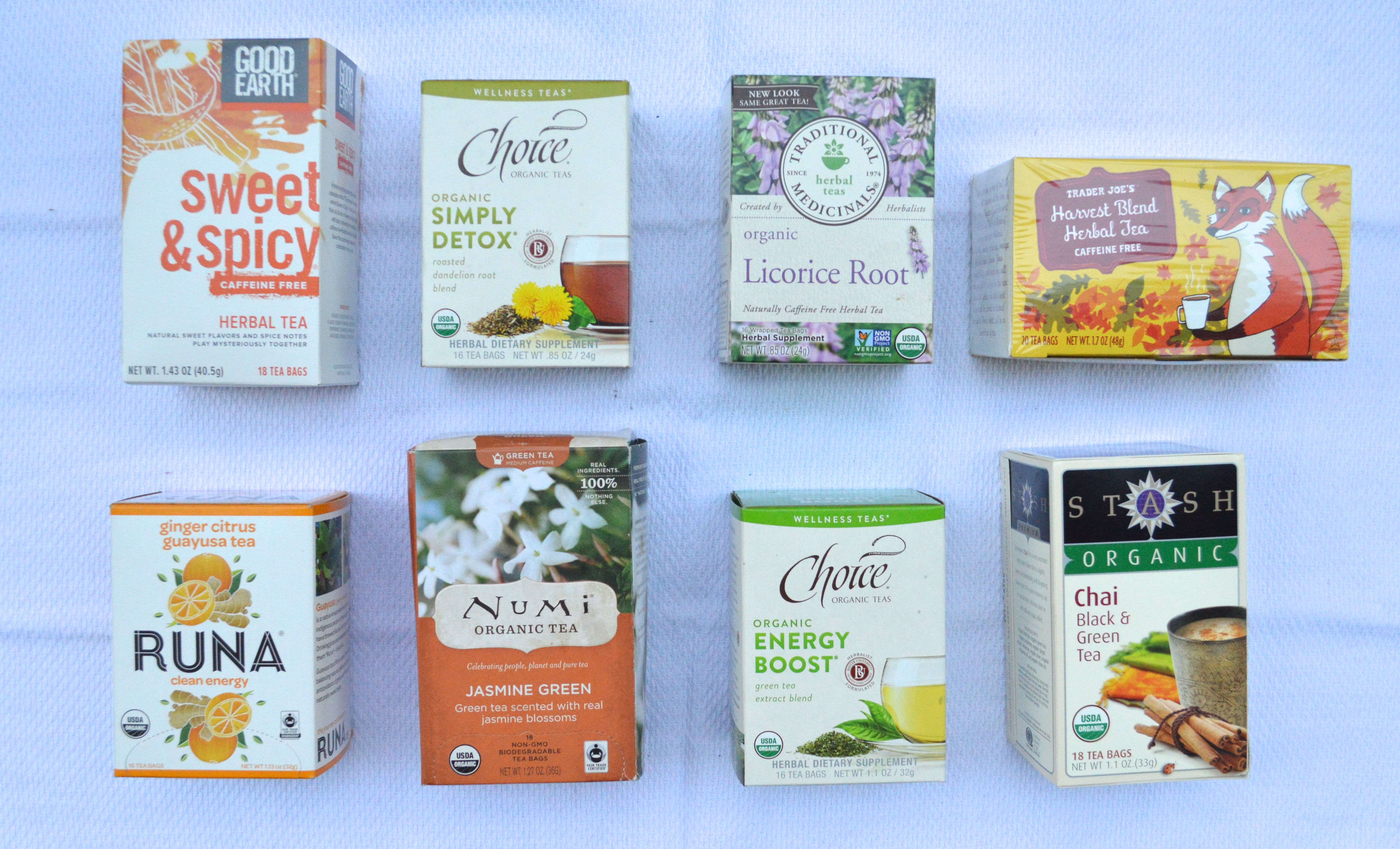 The best Fall teas! Both caffeinated and not. Post via Simply Real Health