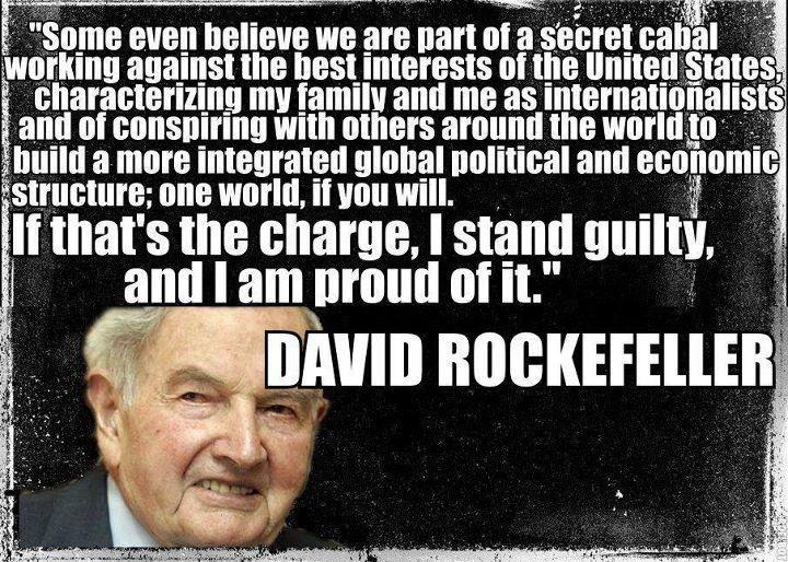Afbeeldingsresultaat voor david rockefeller quotes