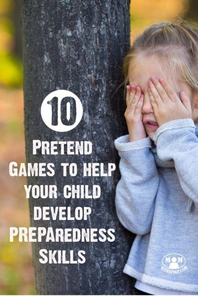 Develop preparedness & survival skills in your children all the while having fun playing games!