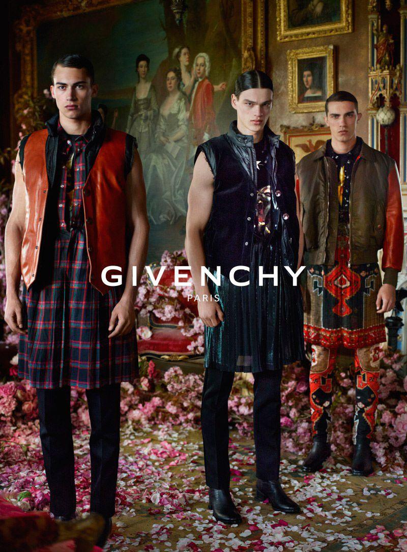 Manuel Vera Signature: Campaña de Givenchy FW 2015