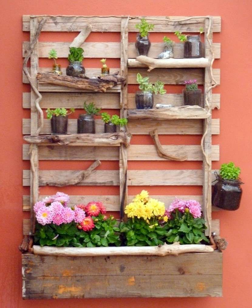 fioriere fai da te per balconi bancale con fiori da