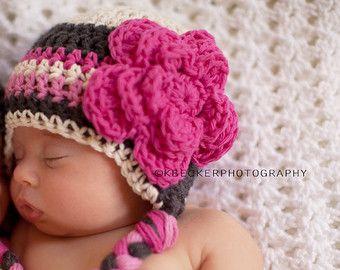 f8b5877d646 Popular items for baby girl hat newborn on Etsy