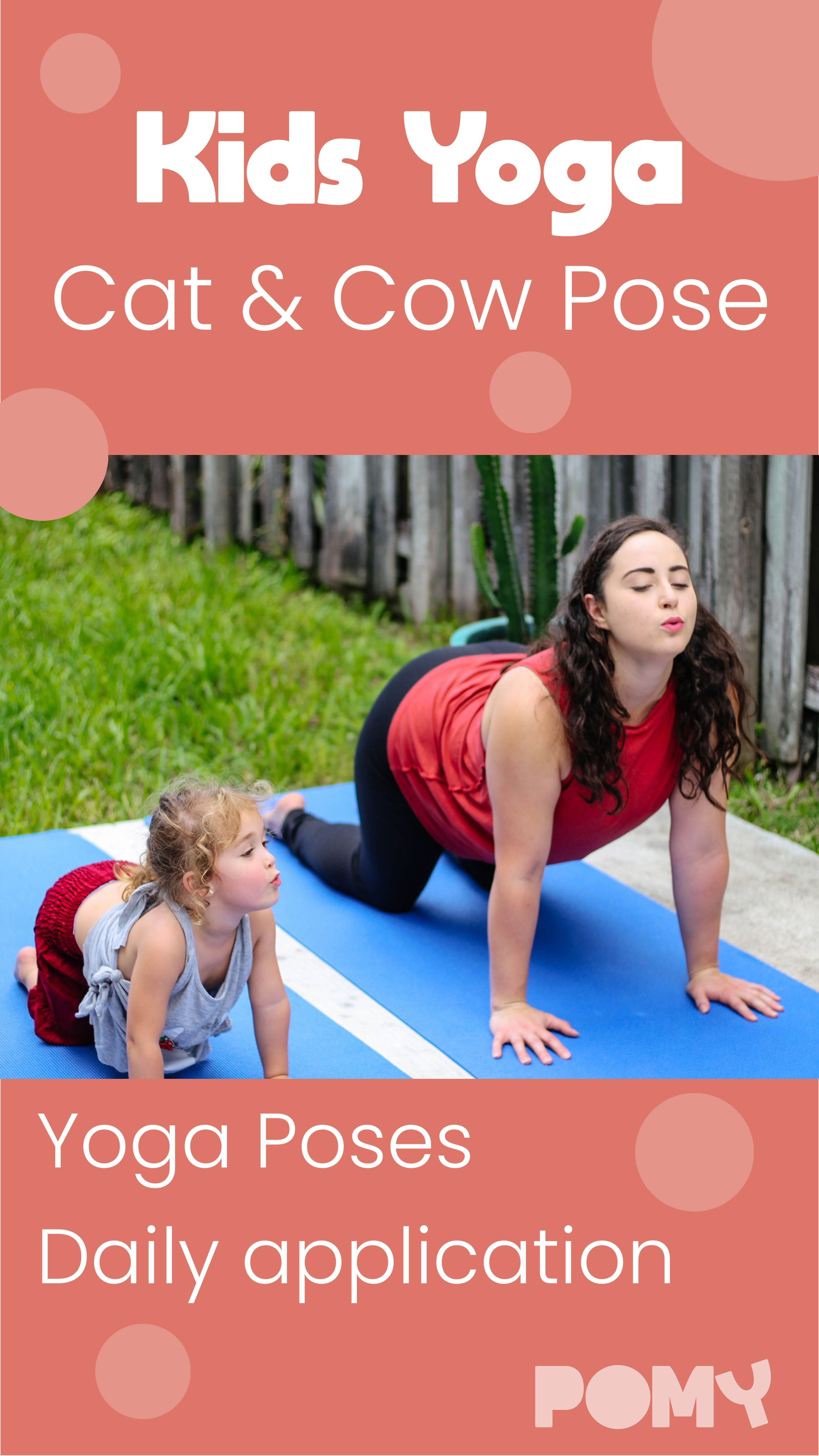 Cat & Cow Pose | Yoga for kids, Cow pose yoga, Cat cow pose