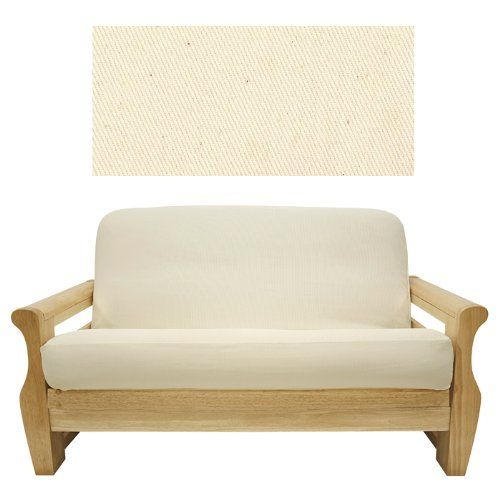 solid natural futon cover loveseat 407 continue to the product at the image