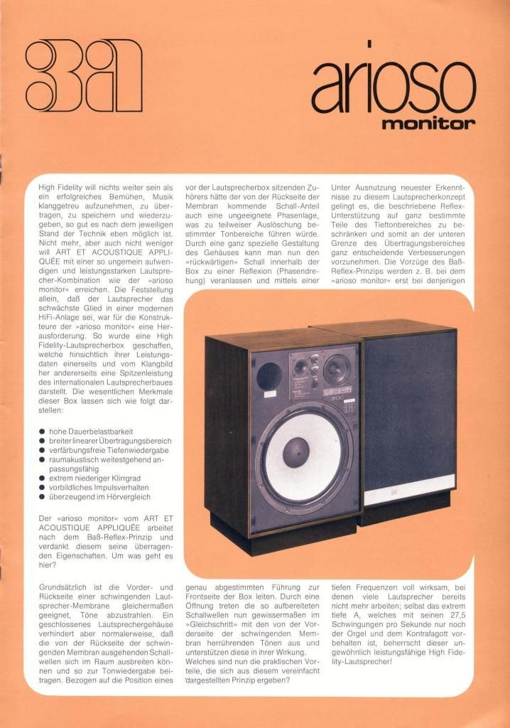 3a arioso   Vintage Audio Ads   Pinterest   Audio, Speakers and ...