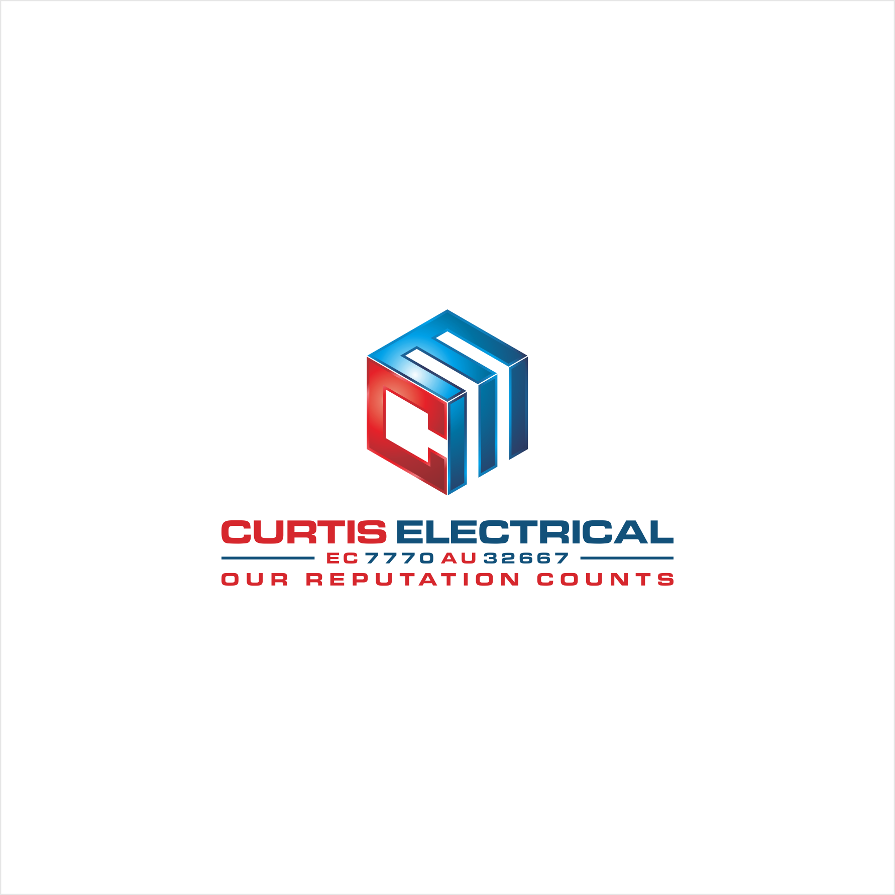 Design 126 By Suminar New Modern Brand For Curtis Electrical Modern Branding Logo Design Design