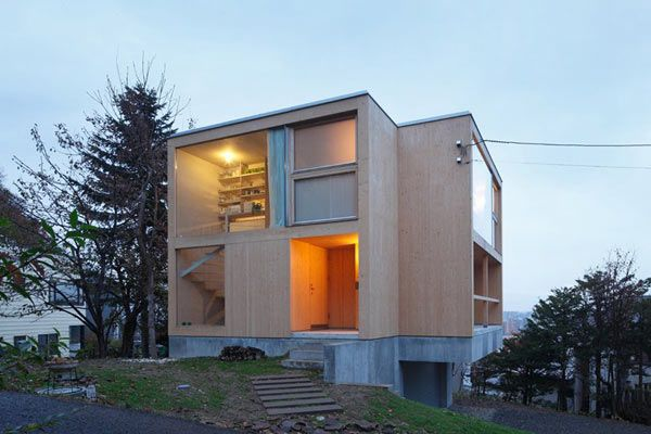 Collect this idea Overlooking the city of Sapporo, Japan, this ... on