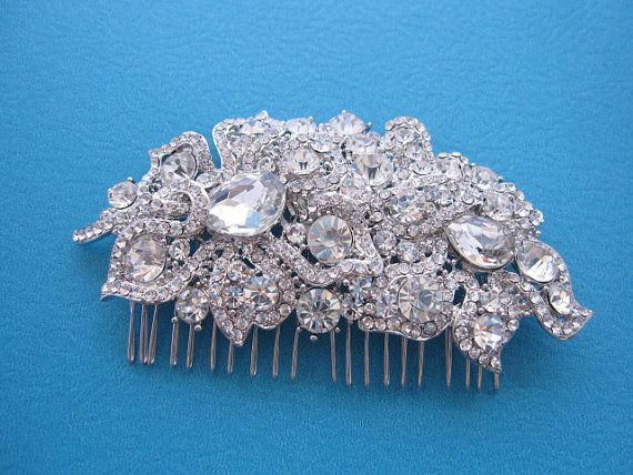 Bridal hair combWedding headpiecesbridal hair by sustyle88 on Etsy
