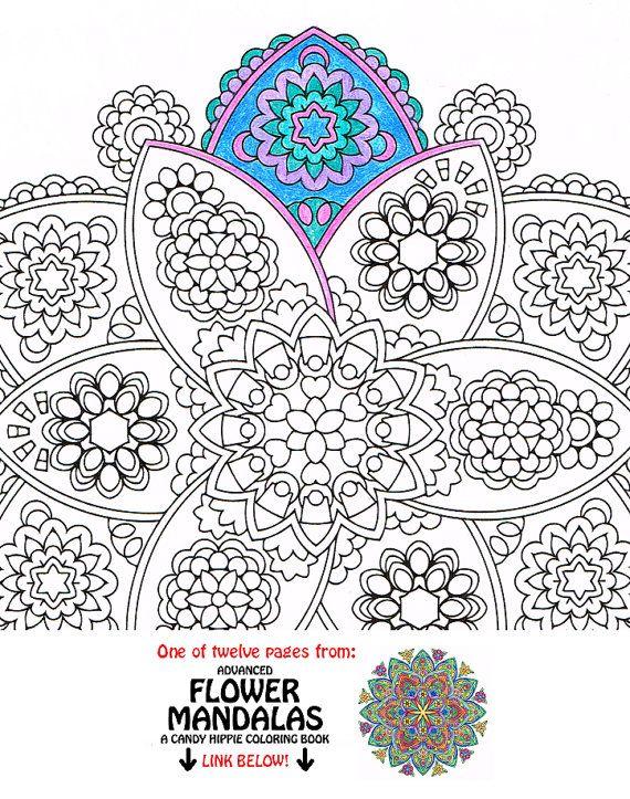Mandala Coloring Page - Petals of Plenty - printable coloring for ...