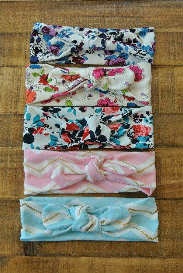 You will adore our Knotted Tie headbands that fit babies from 2 months up until age 3. Some of these will go for an older age but it all dependent on your childs size head.*These are a FAST shipped item*