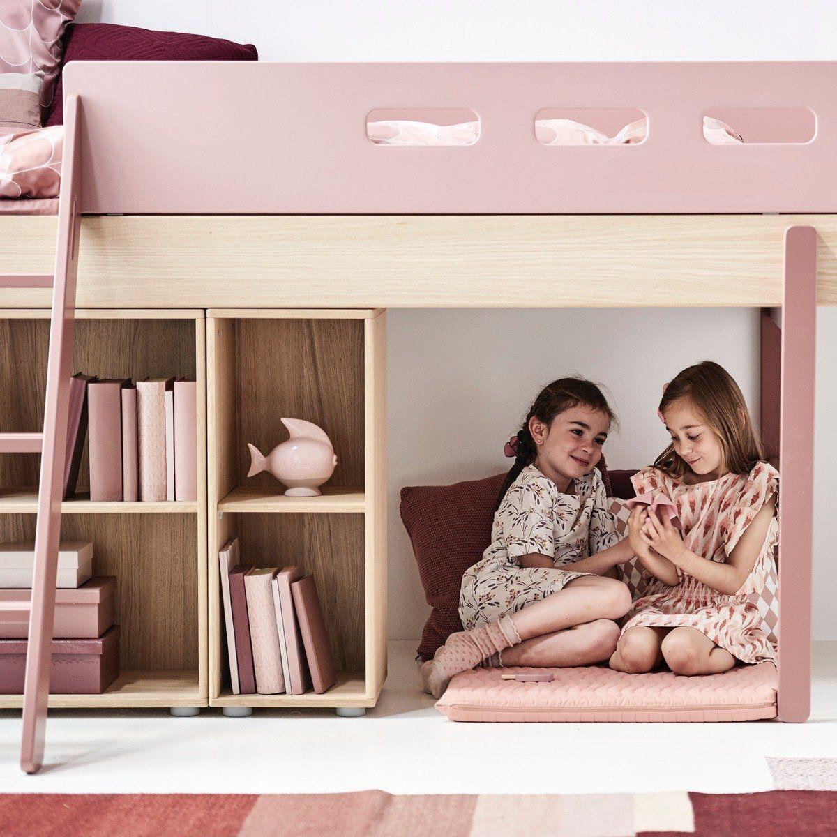 Flexa Mittelhohes Bett In 2020 Hochbetten Kinderzimmer Betten