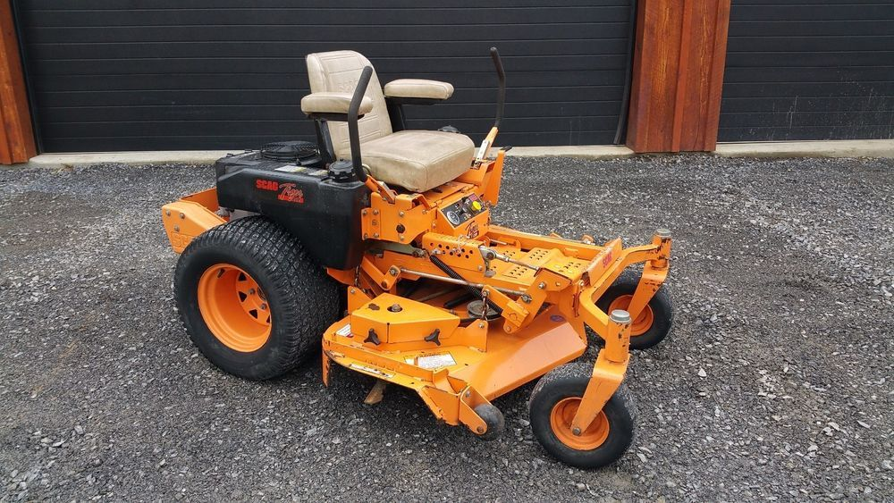 Scag Tiger Cub 52 Quot Riding Zero Turn Lawn Mower Commercial