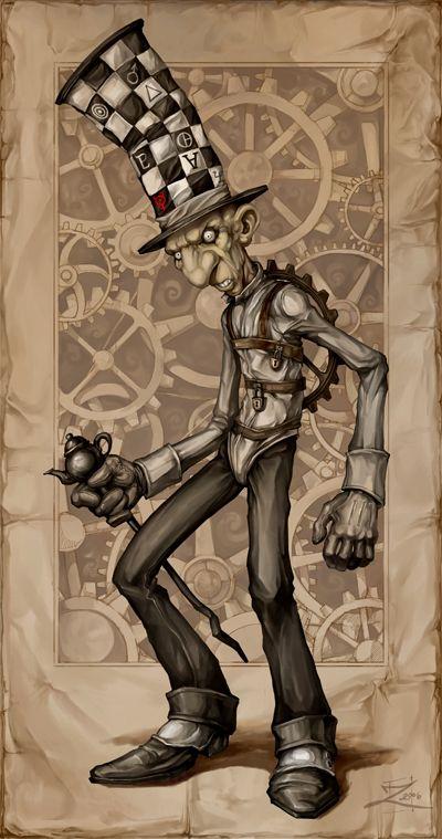 American Mcgee S Mad Hatter By Zeeksie Alice Wonderland