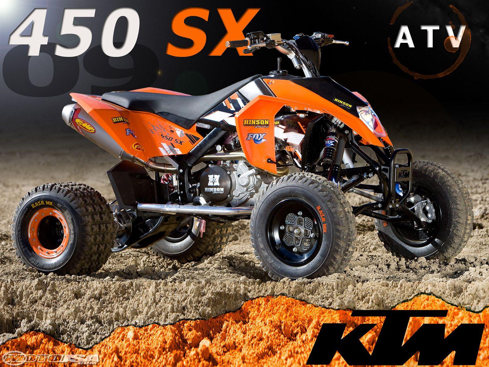 09 Ktm 450sx Atv Title Jpg 1600 1200 Atv Motocross Atv Ktm