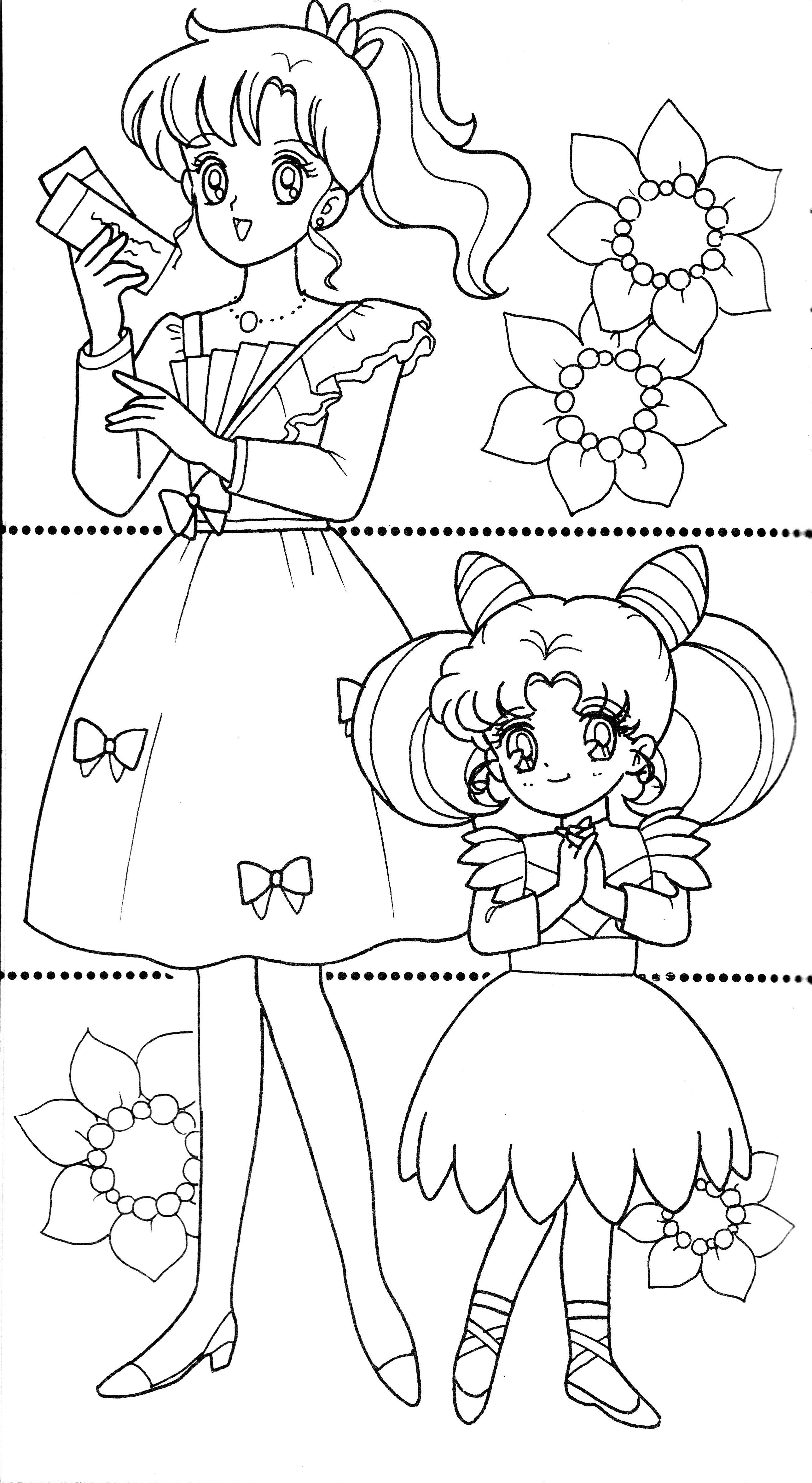 duos060.jpg (2576×4704) | anime | Pinterest | Colorear