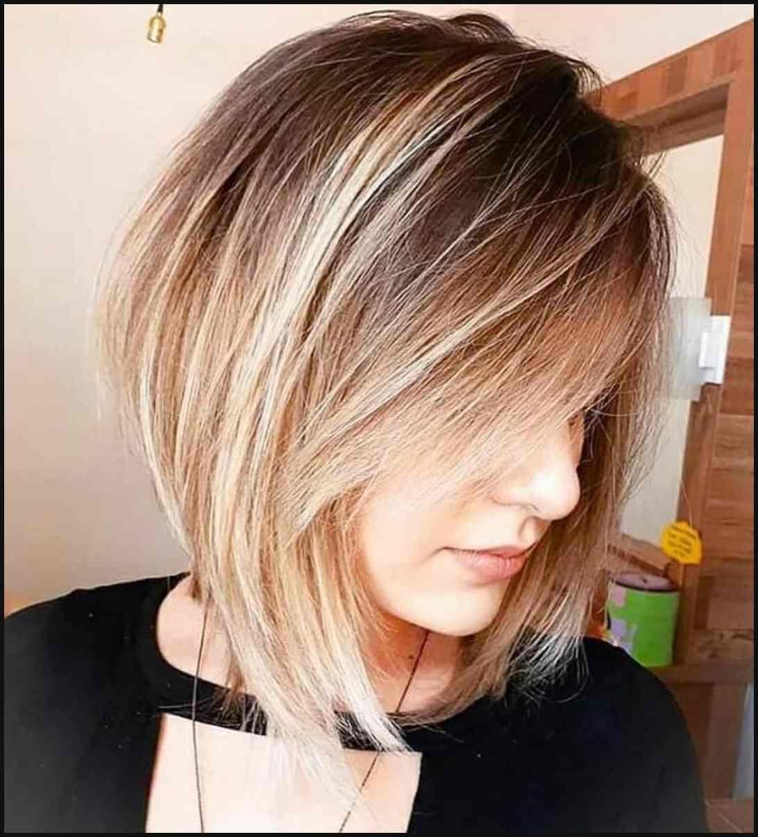 Leichte Frisuren Für Dickes Haar Inspirierend Von Mittellange