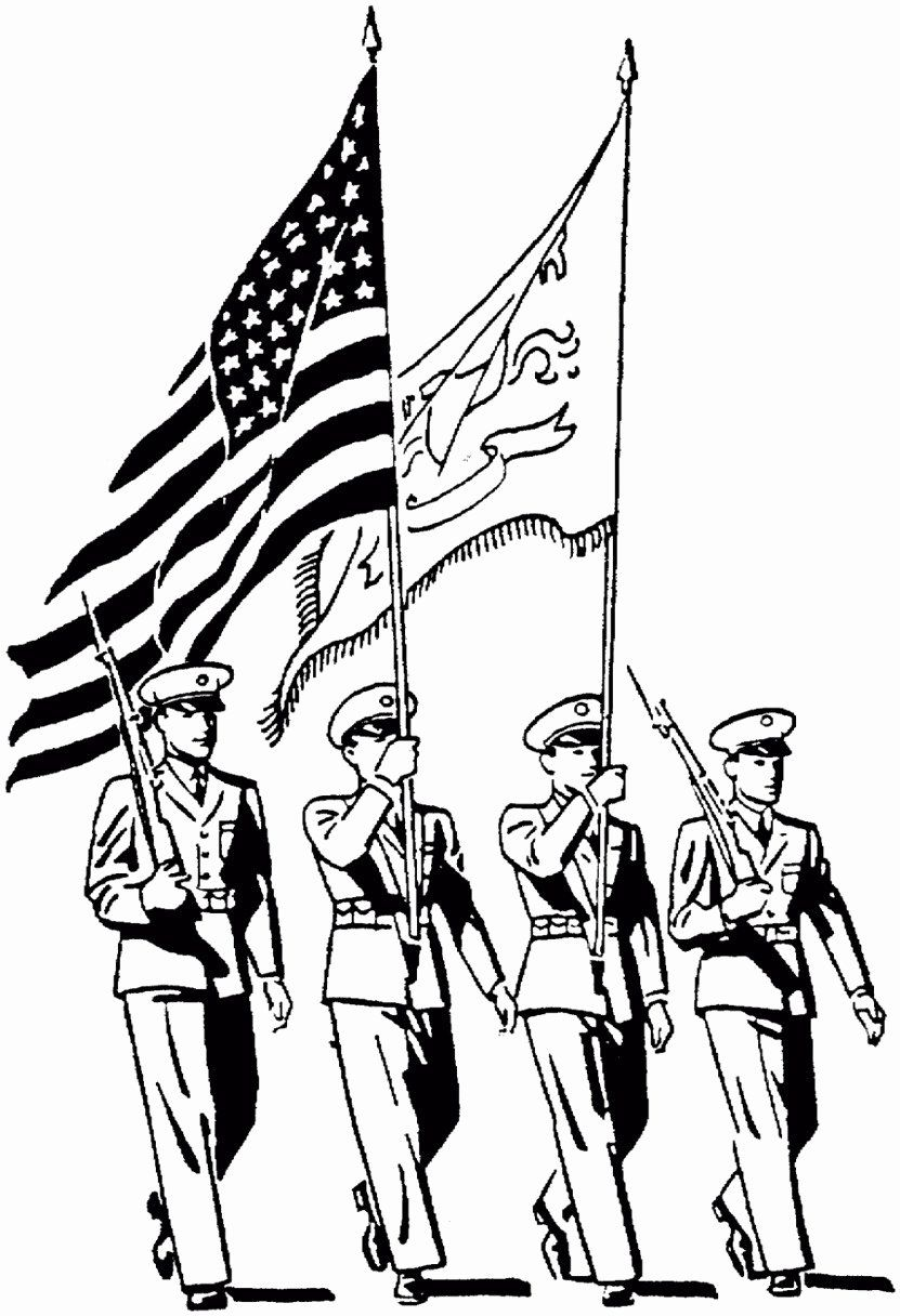 Memorial Day Coloring Sheets Printable Beautiful Sweet Veterans