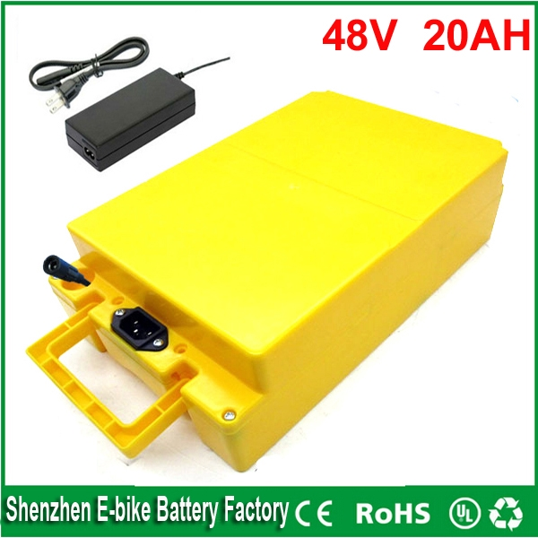 398.05$  Watch now - http://alicev.shopchina.info/1/go.php?t=32616113959 - DIY 48v lithium ion battery 20ah 48v battery 1000W 48v bafang bbs03 electric bicycle battery with waterproof case and charger 398.05$ #magazine