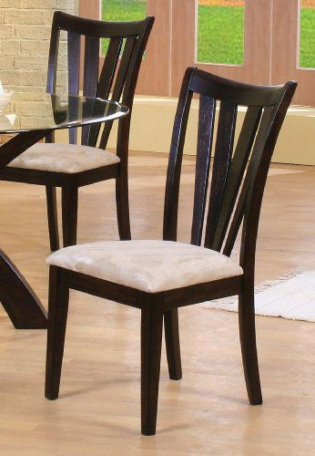 Shoemaker Contemporary Vertical Slat Side Chair ** Learn