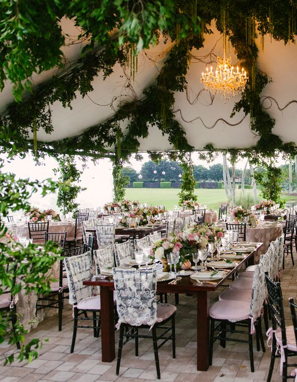 Want the enchanted garden feel at your wedding ceremony ...