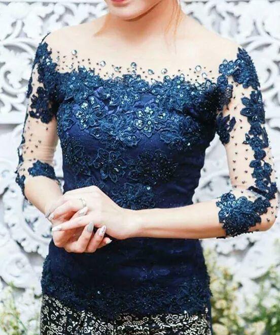 Dongker Grad Dress Kebaya Kebaya Dress Kebaya Brokat