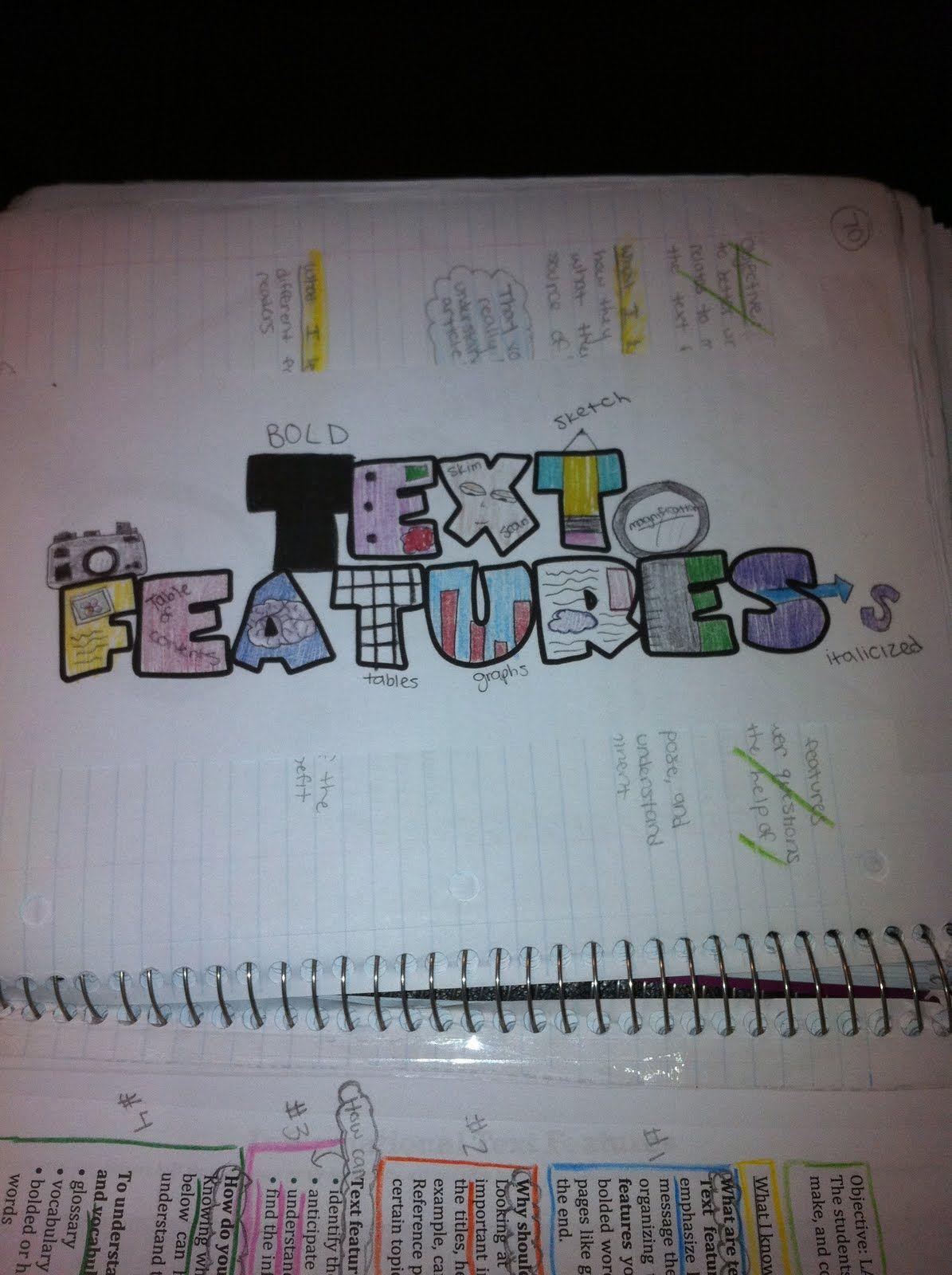 A Teacher's Treasure: Interactive Student Notebook - Reading