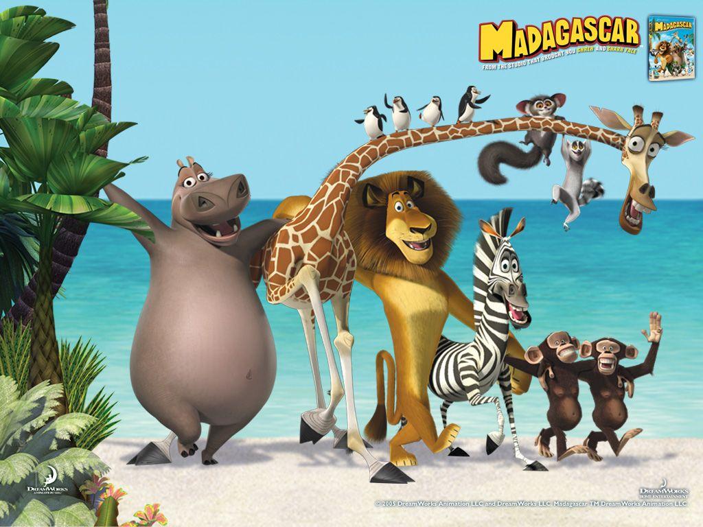 Summary -> Madagascar Dreamworks Animation