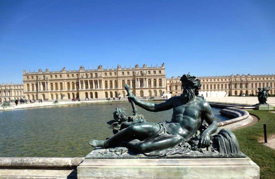 Jardines del Palacio de Versalles.
