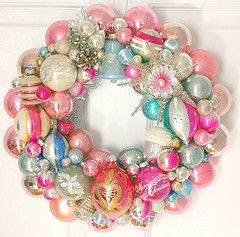 Vintage Ornament Wreath#Repin By:Pinterest++ for iPad#