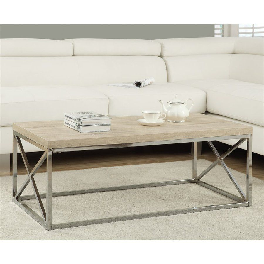 The Clean Lines And Subdued Reclaimed Wood Look Of This Sophisticated Coffee Table Instantly Elevates Your