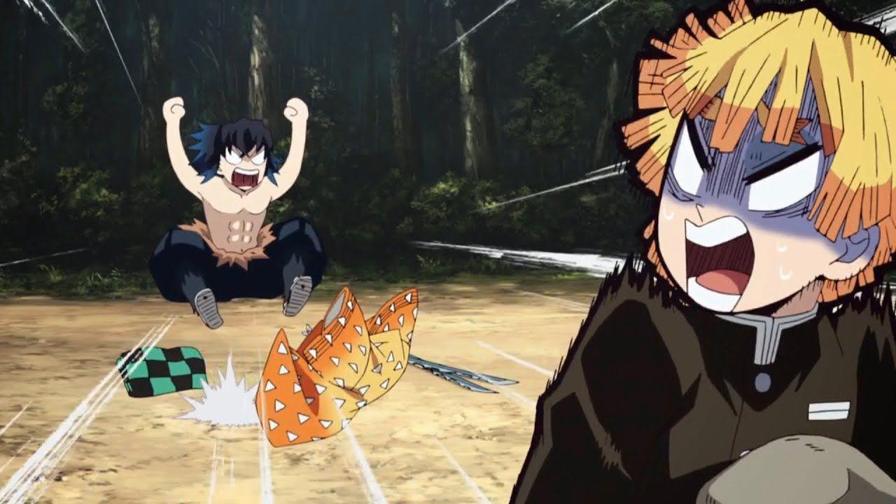 Inosuke's Funny Moments Part 1 Kimetsu no Yaiba Demon