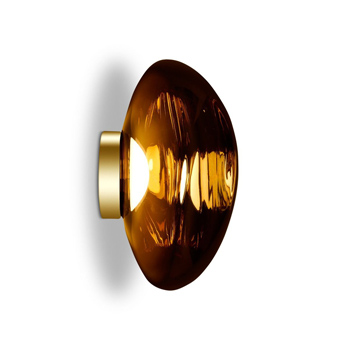 Melt Wall Light Gold By Tom Dixon Switch Modern Wall Lights Light Tom Dixon