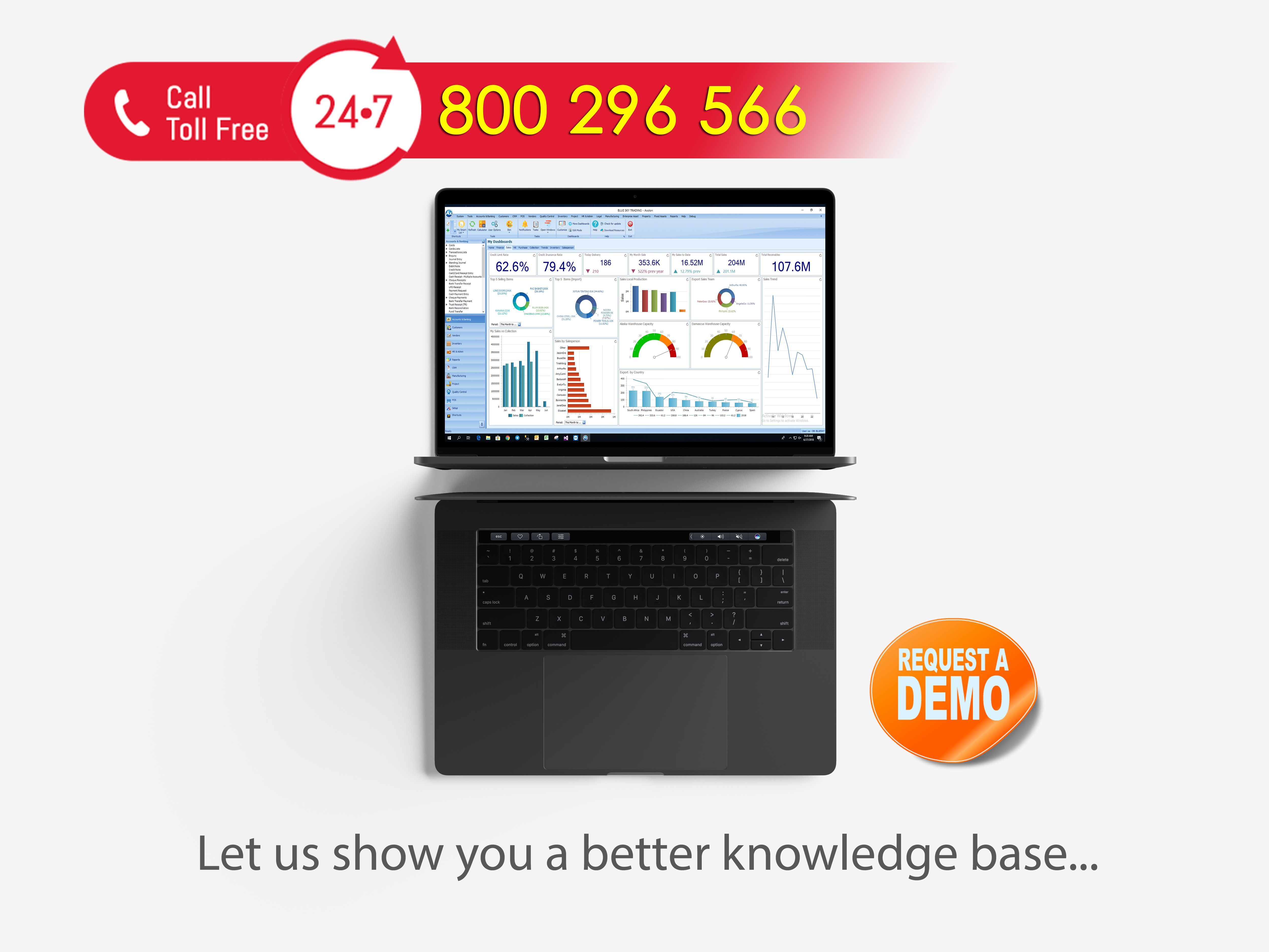 We will help you to understand technology. Take a demo ...