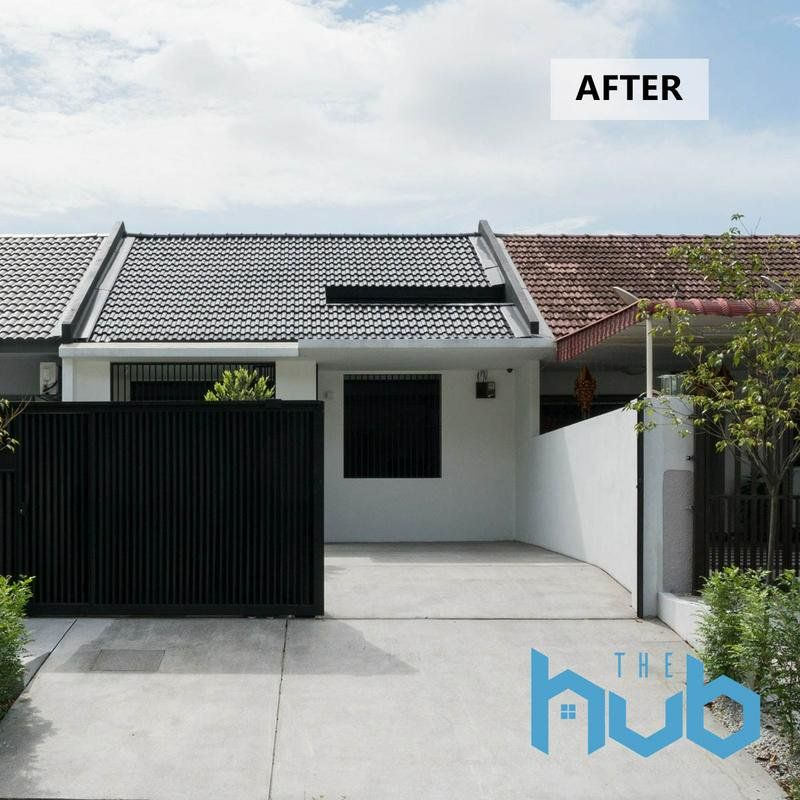 This Rundown Single Storey Terrace House In Pj Was Transformed