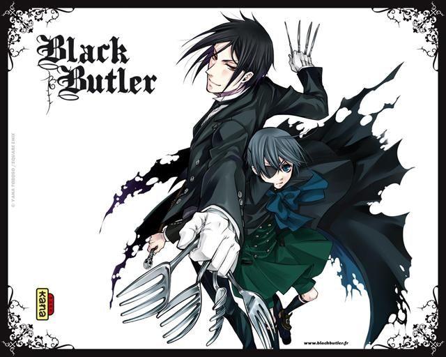 BLACK BUTLER  POSTER KUROSHITSUJI  MANGA TV SERIES ANIME WALL ART  PRINT LARGE